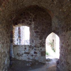 Architektonické prvky horného hradu