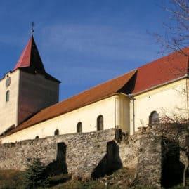 Katolícky kostol v Bátovciach
